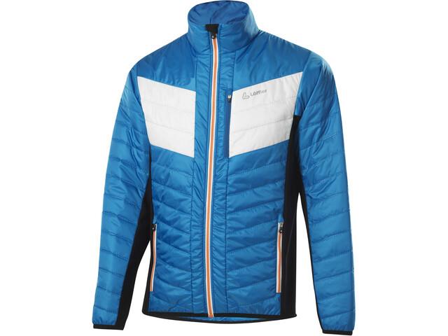 Löffler Primaloft 60 Hotbond Chaqueta Hombre, azul/blanco